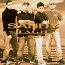 "جلد آلبوم ""تق""، گروه سندی"