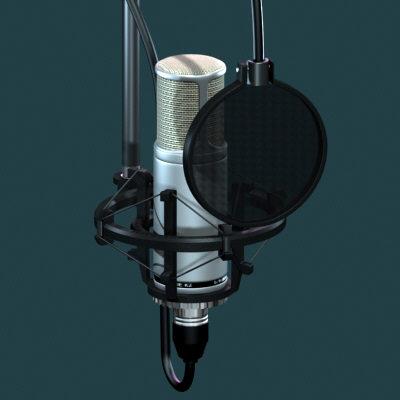 میکروفون دوبله