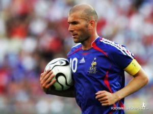 کاپیتان زین الدین زیدان - تیم ملی فرانسه، شماره 10 - اسطوره فوتبال