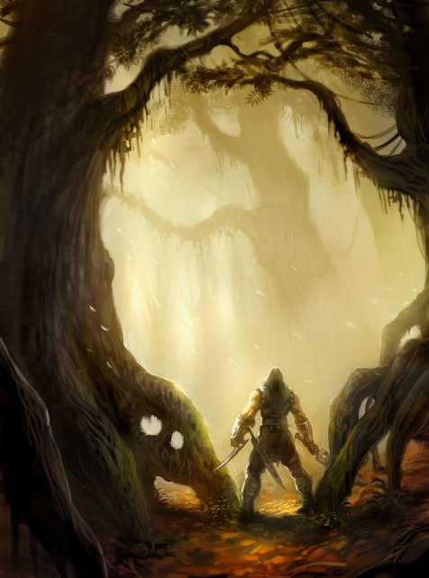 صحنه ای از قسمت جنگل بازی گرشاسپ